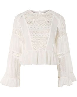 Bell Sleeve Blouse By