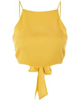Tie Back Camisole Top By