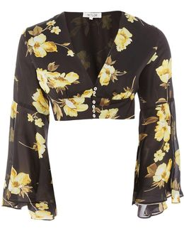 Lexi Yellow Floral Blouse By