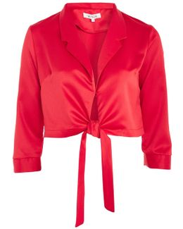 Forever Lost Red Corvette Blouse By