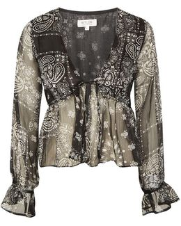 Nevada Traveller Paisley Print Blouse By