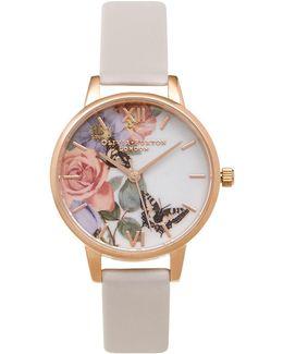 Enchanted Garden Blush Watch By