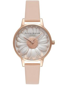 Floral Show 3d Daisy Nude Watch By