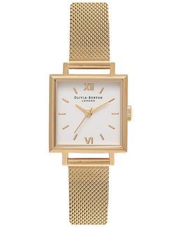 Midi Square Dial Watch By