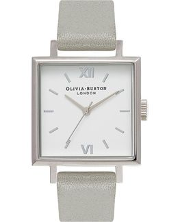 Big Square Dial Watch By