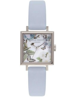 Enchanted Garden Midi Square Watch By