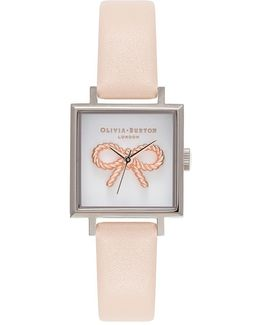 Vintage Bow Rose Watch By