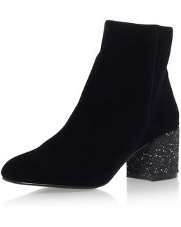 Serbia High Heel Ankle Boot By Miss Kg