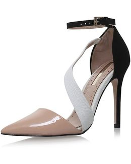 Arielle Nude High Heel Sandals By