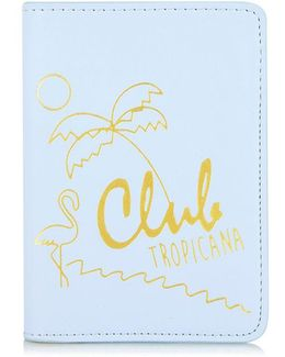 Club Tropicana Passport Holder By Skinnydip