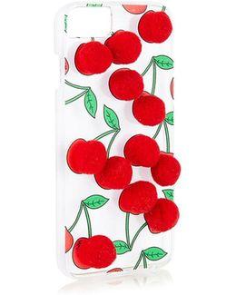 Cherry Pom Iphone 6/7 Phone Case By Skinnydip