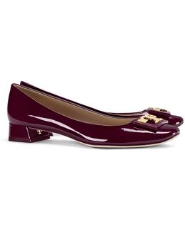 Gigi Patent-leather Court Pumps