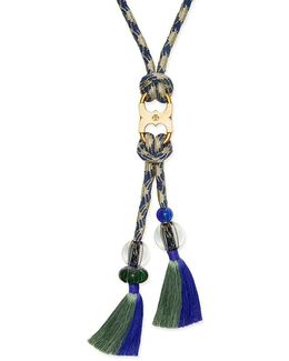 Long Gemini-link Rope Necklace