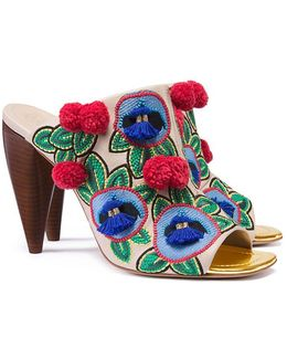 Ellis Embroidered Mule
