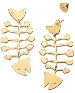 Fish Statement Earring