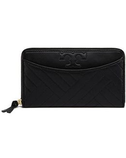 Alexa Zip Continental Wallet