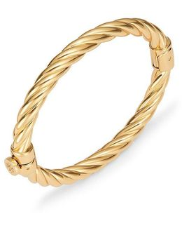Twisted Rope Hinge Bracelet