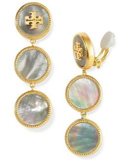 Semiprecious Drop Earring