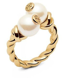 Rope Logo Bead Ring