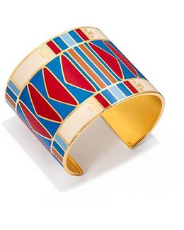 Geo Striped Wide Cuff