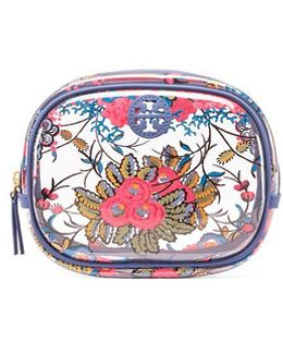 Parker Floral Cosmetic Case