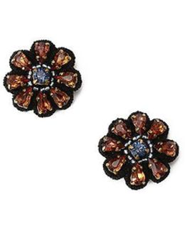 Floral Stud Earring