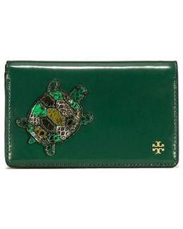 Turtle Burch Medium Slim Wallet