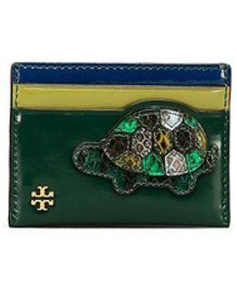 Turtle Burch Card Case