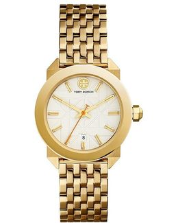 Whitney Watch, Gold-tone Stainless Steel/ivory, 35 Mm