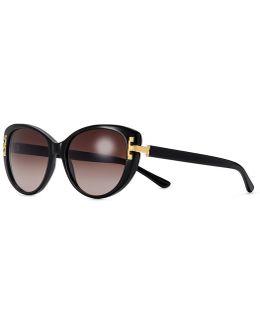 Serif-t Cat-eye Sunglasses