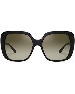 Oversize Rectangle Sunglasses