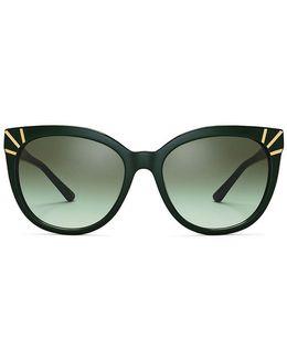 Graphic Square Sunglasses