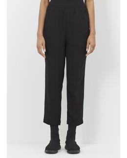 Black Pull On Trouser