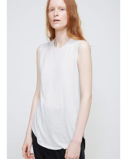 Dirty White Muscle Tee