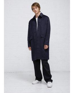 Pressed Cilium Navy Carcoat