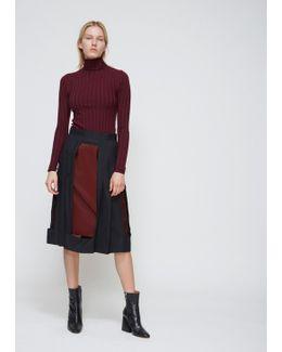 Black Cutout Skirt