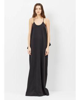 Black + Print Hanes Red Carpet T-dress
