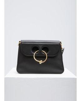 Black Medium Pierce Bag