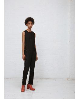 Black Edena Jumpsuit