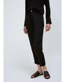Faded Black Krissy Trouser