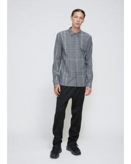 Grey Plaid Shirt Minute