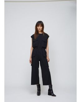 Anthracite Technical Jumpsuit