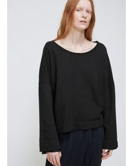Black Double Sleeve Pullover