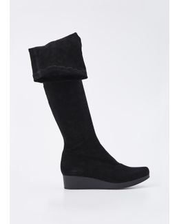 Black Natul High Boot