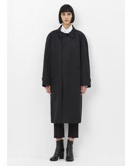 Black Comme 3 Coat