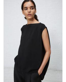 Black Nouveau Top