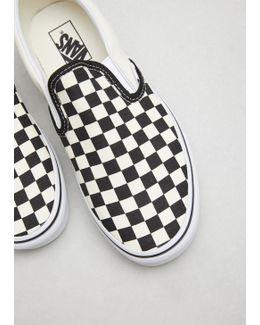Black & White Checkerboard Classic Slip-on