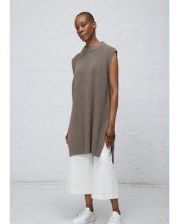 Medium Grey Sl Knit Tunic