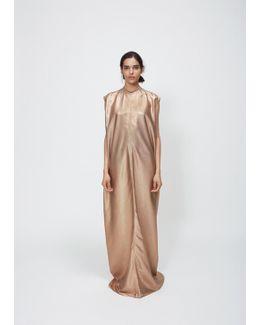 Gold Lamé Audrey Dress