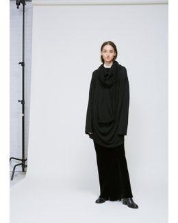 Black Long Sleeve Pelican Knit